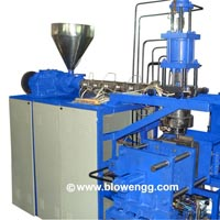 Double Stage Plastic Blow Molding Machine