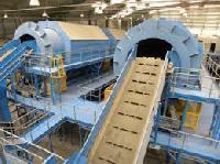 Municipal Solid Waste Processing Machine