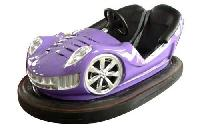 Purple Amusement Bumper Car