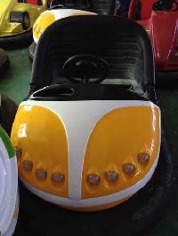 Yellow Amusement Bumper Car