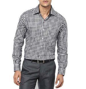 Mens Check Formal Shirts