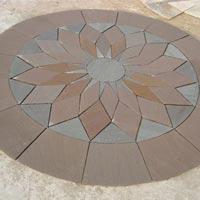 Garden Paving Circles