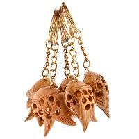 Wooden Fish Key Chain