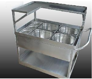 Hospital Food Distribution Trolley