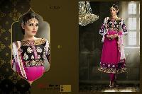 Georgette Anarkali Style Dress