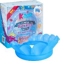 Kair new item silicone rubber shampoo shield hat baby bath cap for bab