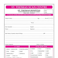 Hospital Forms Designing & Printing