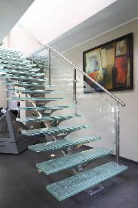 Stainless Steel Glass Spiral Staircase Manufacturer