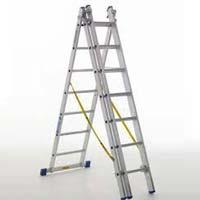 Aluminium Three Part Extension Ladder