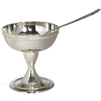 Silver Plated Ice Cream Cup