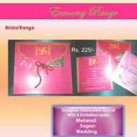 Economy Wedding Invitation Cards
