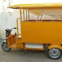 School E Rickshaw Van