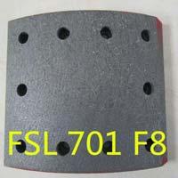 701 F8 BRAKE LINING