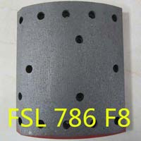 786 F8 brake lining