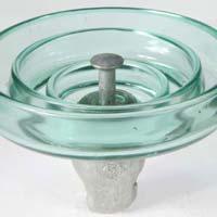 Standard fog type suspension glass insulator LXP-70