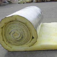 High Insulating Glass Wool Roll With Alum.foil Faced