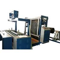 Woven Sack Fabric Rolling Machine