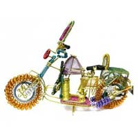 Brass Decorative Bike
