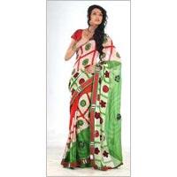 Viscose Silk Saree