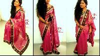 Pretty Shimmer Designer Saree