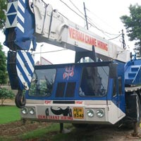 Hydraulic Telescopic Crane Rental Services