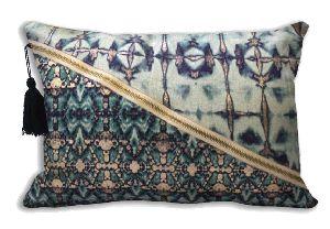 Cotton Ombre Velvet Pillow Covers