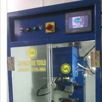 4 Axis Plc Based Chain Faceting Horizontal Machine
