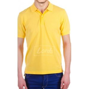 Mens Polyester Cotton Blend Knit T Shirts
