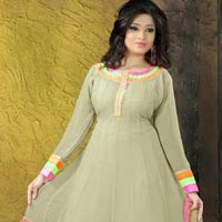 Ankur Georgette Embroidered Anarkali Suits