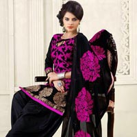 Patiyala Lady Cotton Semi Stitched Suits
