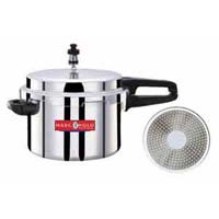 Induction Base Aluminium Pressure Cookers