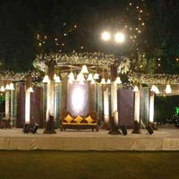 Wedding Crystal Stage