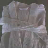 Cotton Waffle Bathrobe For Hotel