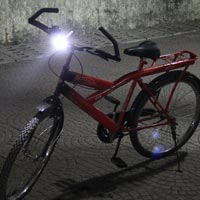 Cree Led Solar Bicycle Headlight