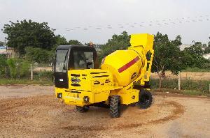 Mobile Concrete Mixer-self loader