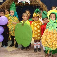 Fruits And Vegetable Fancy Dresses