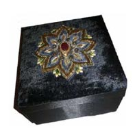 Embroidered Jewellery Boxes