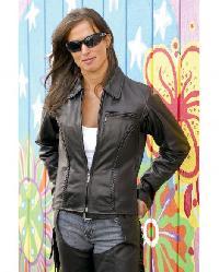 100% Genuine Soft Leather Jacket for Women,Handmade Men Black ...