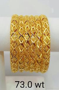 Gold Dubai Bangles