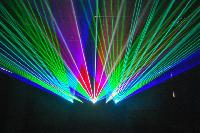 Extreme Logo Laser Display System