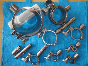 SS Heavy Duty Pipe Holding Clamps
