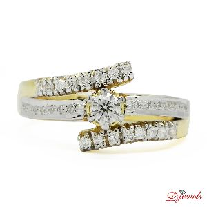 Charming & Fancy Designer Diamond Ring Lathoniella