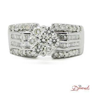 Diamond Ring Lycaenoides 14k Hm Gold