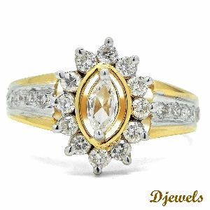14k Hm Gold Marcia Solitaire Ring
