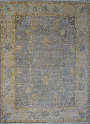 Hand Knotted Oushak Rugs