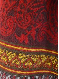 Temple blanket shawl