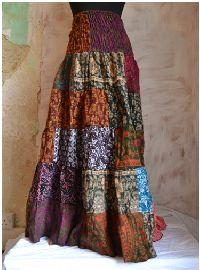 Winter frill skirt