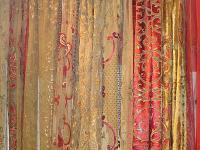 Designer Embroidered Curtain Panels