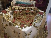 Designer Embroidered Table Cover
