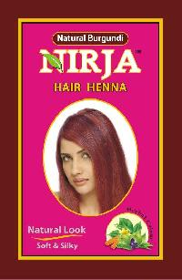 Natural Burgundy Hair Color